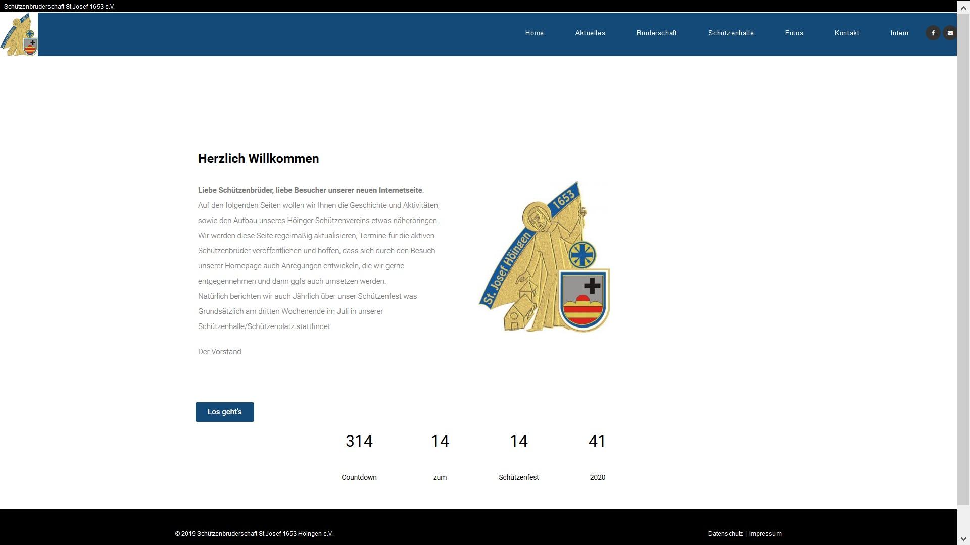 Neue Homepage ist online